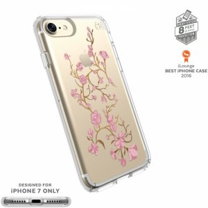 Smartphone case Speck IPHONE 7 PRESIDIO PINK/CLEAR 79991-5754