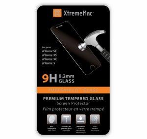 Display protector Xtrememac IPHONE SE (5S) СТЪКЛО IPP-TTG5-13