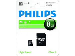 Memory card Philips MICRO SDHC 8GB CI.4