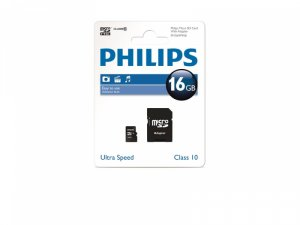 Memory card Philips MICRO SDHC 16GB CI.10