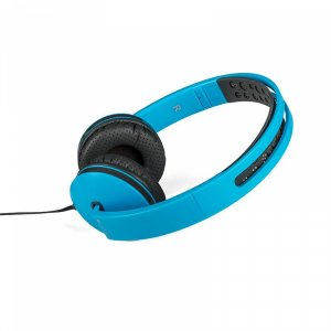 Headphones with mic LOGIC MH-7 BLUE with mic