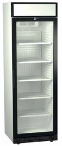 Refrigerator Showcase Crown SDS 385 DC1CF