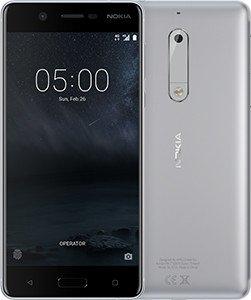 Mobile phone Nokia 5 DUAL SIM SILVER