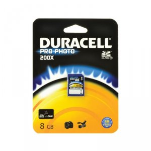 Memory card Duracell SD 8 GB PRO PHOTO CLASS 10