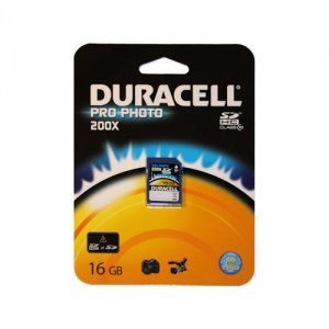 Memory card Duracell SD 16 GB PRO PHOTO CLASS 10