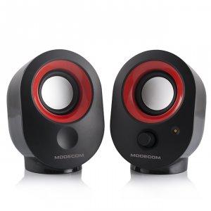 Speakers Modecom MC-XS5 2.0 BLACK-RED
