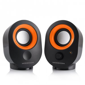Speakers Modecom MC-XS5 2.0 BLACK-ORANGE