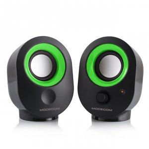 Speakers Modecom MC-XS5 2.0 BLACK-GREEN