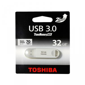 USB flash memory Toshiba SUZAKU 32GB USB 3.0 WHITE