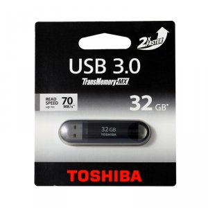 USB flash memory Toshiba SUZAKU 32GB USB 3.0 BLACK