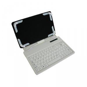 "Tablet case X-TREMER WSK-701-W 7"" with keyboard white"