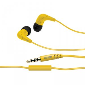 Headphones with mic ACME HE-15Y with mic