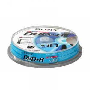 Media Sony 10X DVD+R 10DPR120BSP/10DPR47SP