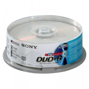 Media Sony 25X DVD+R 25DPR120BSP 520421201