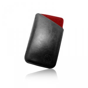 "Smartphone case GreenGo SLIM UP SMOOTH 4"" BLACK/RED T_0010362"
