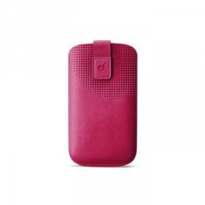 Smartphone case Cellularline TATTO XXL PINK TATTOSLXXLP