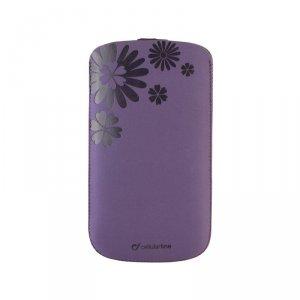 Smartphone case Cellularline TATTO XL PURPLE TATTOSLXLV
