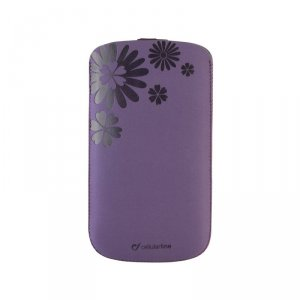 Smartphone case Cellularline TATTO XL PURPLE TATTOSLXLV
