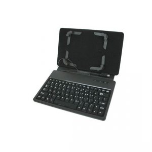 "Tablet case X-TREMER WSK-701-BK 7"" with keyboard black"