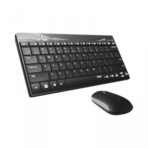 Keyboard Rapoo 8000 12755 + mouse wireless black