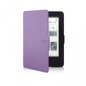 "e-Book case KINDLE 6"" 2014 ВИОЛЕТОВ + ЗАЩ.ФОЛИО + STYLUS"