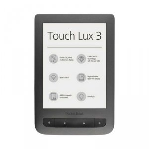e-Book reader PocketBook 6262 TOUCH LUX 3 GREY