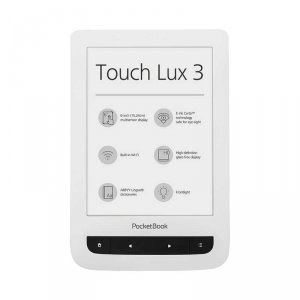 e-Book reader PocketBook 6262 TOUCH LUX 3 WHITE