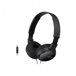 Headphones with mic Sony MDR ZX110APB
