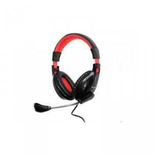 Headphones with mic Tracer DIZZY BLUE/RED