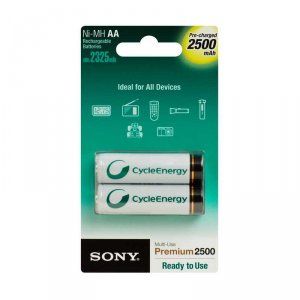 Battery Sony NH-AAB2GN AA NIMH 2 X 2500 MAH