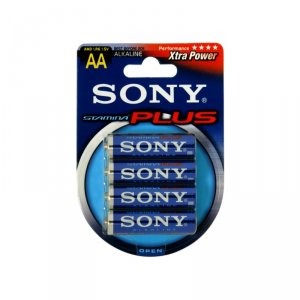 Battery Sony AM3B4A/D R06 AA 4 БР/БЛИСТЕР