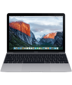 "Notebook APPLE MACBOOK 12"" 512GB SPACE GRAY MLH82"