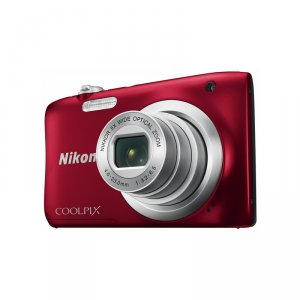 Camera Nikon COOLPIX A100 RED + CASE + 8GB