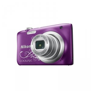Camera Nikon COOLPIX A100 PURPLE LINEART + CASE + 8GB