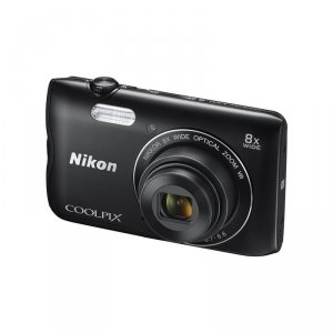 Camera Nikon COOLPIX A300 BLACK + CASE + 8GB
