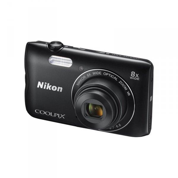 Camera Nikon COOLPIX A300 BLACK + CASE + 8GB
