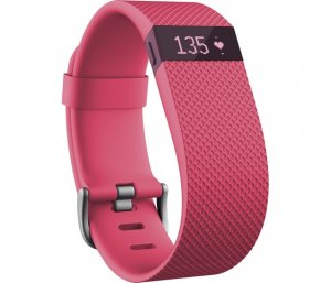 Fitness band Fitbit CHARGE HR PINK S FB405PKS