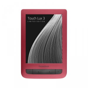 e-Book reader PocketBook 6262 TOUCH LUX 3 RED
