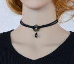 Дамска огърлица с медальон сърце