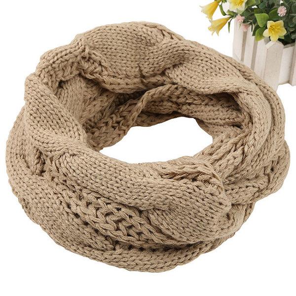 Плетен дамски шал