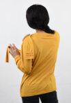 Дамска блуза със втори ръкави