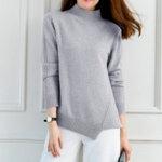 Дамски пуловер асиметричен