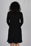 Плетена рокля с висока талия