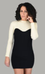 Плетена рокля бюстие