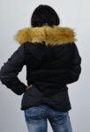 Дамско яке със сваляща качулка