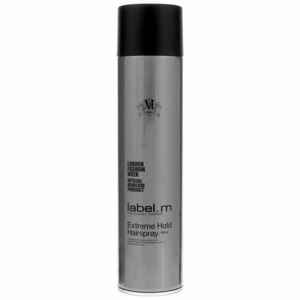 Лак за коса с ултра силна фиксация label.m Extreme Hold Hairspray 300мл