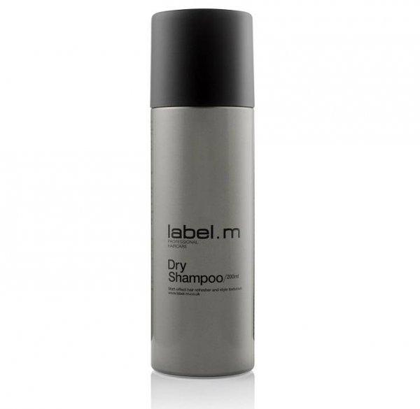 Освежаващ сух шампоан за обем label.m Dry Shampoo 200мл