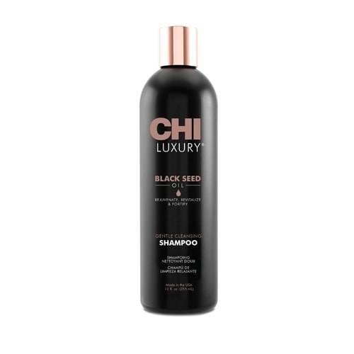 Подхранващ шампоан с масло от черен кимион CHI LUXURY Black seed oil 355мл