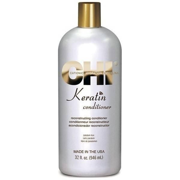 Кератинов подхранващ балсам за суха и увредена коса - CHI 946 мл.