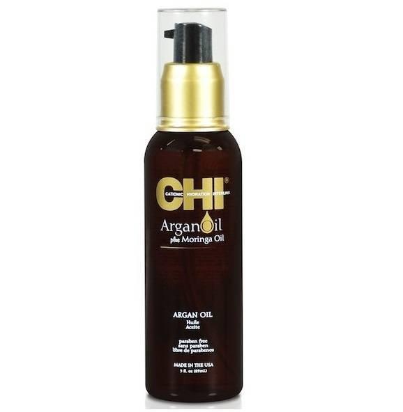Серум за суха и изтощена коса с арган CHI Argan Oil Plus Moringa Oil 89мл